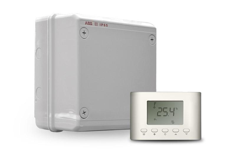 Компактные шкафы автоматики ZCS-V350 для систем с электрическим нагревателем (вентилятор с EC-двигателем)