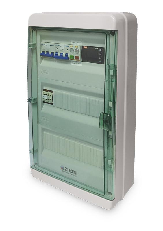 Шкафы автоматики ZCS-W для приточных систем с водяным нагревателем