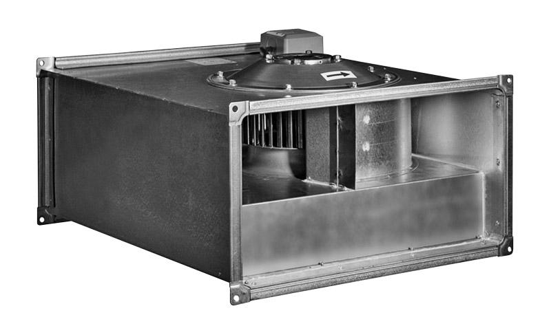 Прямоугольные канальные вентиляторы ZFP