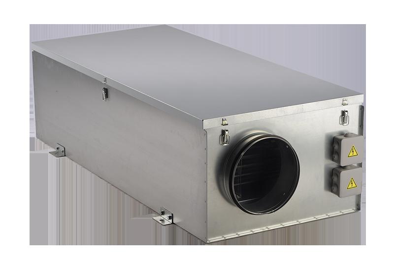 Компактные приточные установки ZPE со встроенным электрическим нагревателем