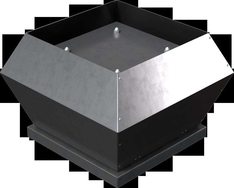 Крышные вентиляторы с вертикальным выбросом воздуха ZFR